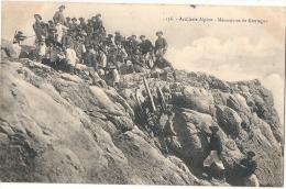 Chasseurs Alpins Artillerie Alpine - Manoeuvres De Montagne - écrite TB - Manoeuvres