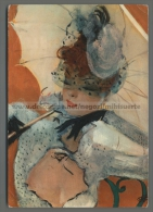 T2113 ILLUSTRAZIONE FIRMATA DONNA CON OMBRELLO VG (m) - Illustrators & Photographers