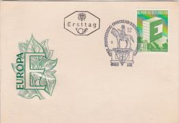 Austria 1959  For Europe  First Philatelic Exhibition For Trade Sports Club Souvenir Cover - Austria