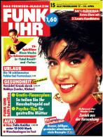 FUNK UHR  -  Das Fernseh-Magazin Nr. 15 Vom 8.4.1993  -  Mit : Tatort Roswitha Schreiner  - - Film & TV
