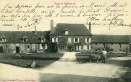 En EURE Ferme De FRENELLE Fermier Ane Mouton Ecrit De GUITRY Cachet Postal De Saussay La Vache Ou Campagne A Identifier - Autres Communes