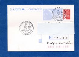 Y&T N°      - ENTIER POSTAL TVP LUQUET  Oblitération Illustrée CARRÉ MARIGNY /PARIS(4153) - 1997-04 Marianne Of July 14th