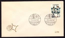 4.- 004 SPAIN ESPAGNE 1975. IV INTERNATIONAL MATCH OF CHESS. ORENSE. OURENSE GALICIA - Schaken