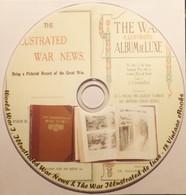 18 Illustrated War I News; WWI De Luxe Old Books 1914-1918. Library On DVD - Libri, Riviste, Fumetti