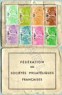 Carte Fédérale De La Fédération Des Sociétés Philatéliques Françaises (Recto-Verso) (JS) - Vieux Papiers