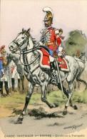 Carte MILITARIA CARABINIERS TROMPETTE GARDE IMPERIALE II EMPIRE - Uniforms