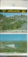 Colour Views Of Adelaide A Pitt Card  Lettercard  12 Views A Pitt Card  Front & Back Shown - Adelaide