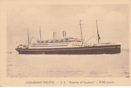 23174 SS Empress Of Scotland  - Canadian Pacific Liner -25000 Tons -ed Danel Lille- Paquebot Canada - Dampfer