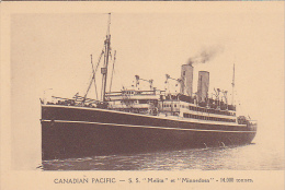 23176 SS Melita Minnedosa  - Canadian Pacific Liner -14000Tons -ed Danel Lille- Paquebot Canada - Dampfer