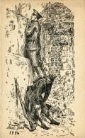 CPA MILITARIA FRIENDS AMIS 1914 Illustrateur Mar God - Weltkrieg 1914-18