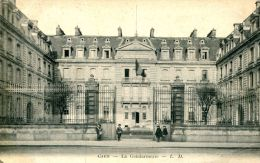 N°36978 -cpa Caen -la Gendarmerie- - Police - Gendarmerie