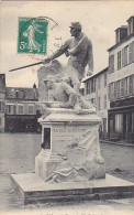 23188 FORMERIE France - Defense ( 28 Octobre 1870 ) Statue Grebert -imp Lib Paul Hubert - Soldat Guerre 1870