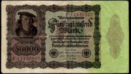 50000 MARCHI 1922 GERMANIA WEIMAR - [ 3] 1918-1933 : Weimar Republic