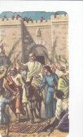 Gesù Che Entra A Gerusalemme, Con Preghiera Al Retro (Ed. ALF  2107) - Devotion Images