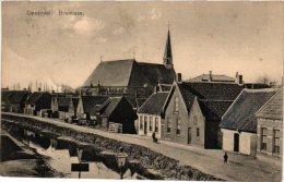 NEDERLAND    ZEELAND    1 PC  Bruinisse  Deestraat - Pays-Bas