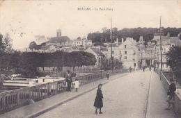 """23192 MEULAN - Le Petit Pont"""" -ed Coll FOUSSAT - Fillette"""