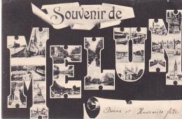 23194 Souvenir De Melun -imp Thibault -multi Vues - Melun
