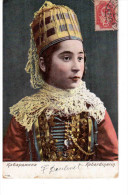 Types Du Caucase Kabardinka 1908 OLD POSTCARD 2 Scans - Géorgie