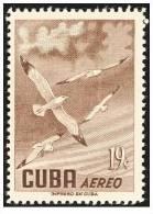 CUBA/KUBA 1956 AVES 19 CENT.   MNH - Cuba