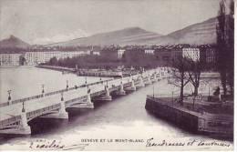 SUISSE - GENEVE - Et Le Mont Blanc - Nr E.H. 1 - D9 670 - GE Genève
