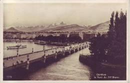 SUISSE - GENEVE - Le Pont Du Mont Blanc - Perrochet Matile à Lausanne - D9 679 - GE Genève