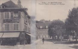 CPA  MONTBELIARD PLACE DE L'ENCLOS ET KIOSQUE DE LA MUSIQUE - Montbéliard