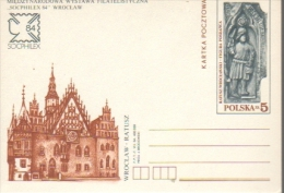 P074 Poland Postal Card 1984 - Socphilex 84 - Stamped Stationery