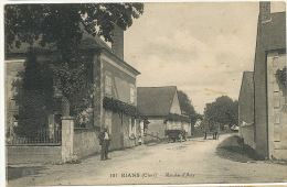 Rians 101 Route D  Azy  Ecrite 1932 - Other Municipalities
