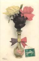 Guerre 1914-18- Ref H596- Fleur Des Allies - Theme Fleurs - Belgique  - Carte Bon Etat   - - Guerra 1914-18