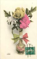 Guerre 1914-18- Ref H594- Fleur Des Allies - Theme Fleurs - Italie -italia - Italy  - Carte Bon Etat   - - Guerre 1914-18