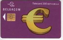 Télécard De 200.BEF. / 4,98 € - BELGACOM - Expire 31/01/2004. - 2 Scannes. - Télécartes