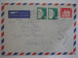 Switzerland 1970 Commercial Cover To US - Switzerland