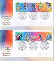 Australia 2000 Olympic Sports Two FDC S - FDC