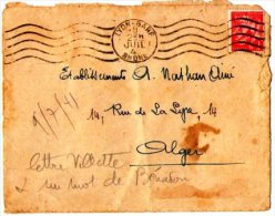 Lettre Circulée 1940 - Autres