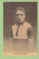 Edward HUYGHENS. 2 Scans. Edition Sportkaarten Frank Nels - Cyclisme