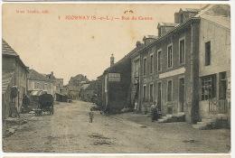 Igornay 3 Rue Du Centre Edit Naudin Pub Chocolat Menier 1913 Vers Champlemy Nievre - Autres Communes