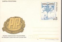 P099 Poland Postal Card 1983 Medicine - Stamped Stationery