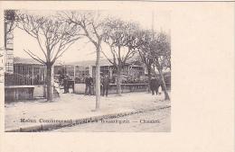 23197 MELUN Commercant -maison Boussaingault -chantiers -ETM VP -marchand Bois - Melun