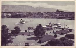 SUISSE - GENEVE - La Rade Et Vue Sur La Ville - Nr 6018 Jaeger à Genève - D9 686 - GE Genève