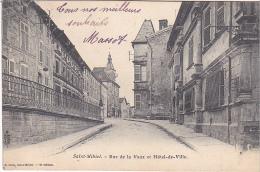 23201 SAINT-MIHIEL - Rue De La Vaux Et Hotel De Ville  Ed Collin 2iem Ed - - Saint Mihiel