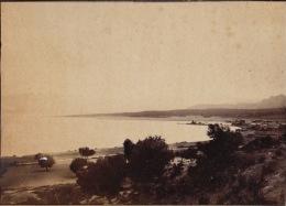 Photo D´un Voyage En Grece 1895 Grec Corinthe Le Peneios - Antiche (ante 1900)