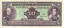 VENEZUELA 10 BOLIVARES 1990 AUNC - Venezuela