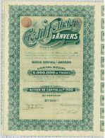 Credit Foncier D'Anvers - Banque & Assurance
