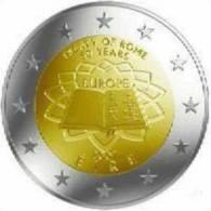 2 Euro Commémorative Irlande 2007 Traité De Rome - Irlande