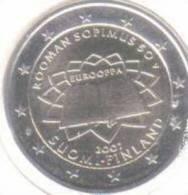 2 Euro Commémorative Finlande 2007 Traité De Rome - Finlande