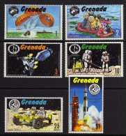 Grenada - 1971 - Apollo Moon Exploration - MNH - Grenade (...-1974)