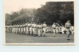 DIEGO-SUAREZ  - Défilé Militaire 11 Novembre 1952; Carte Photo. - Madagascar