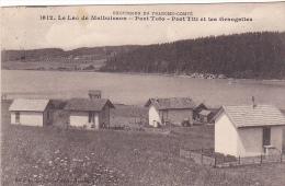 23221 Le Lac De MALBUISSON - Port Toto - Port Titi Et Les Grangettes -1612 Gaillard Pretre Besancon - Franche Comte