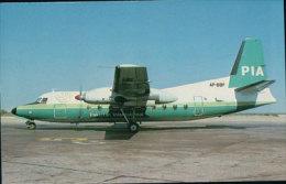 Aviation, Fokker F27, PIA Pakistan International (8534) - 1946-....: Moderne