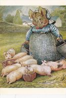 BEATRIX POTTER-AUNT PETTITOES AND FAMILY OF LITTLE PIGS - Children